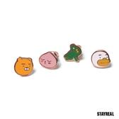 SR x KAKAO FRIENDS 好朋友耳環組 (四入一組)
