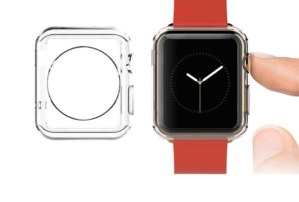 【Love Shop】 iphone Apple Watch保護套 超薄手錶iwatch保護透明套i Watch防水套 保護殼