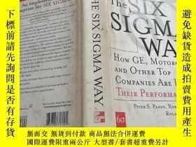 二手書博民逛書店THE罕見SIX SIGMA WAYY23042 出版2000