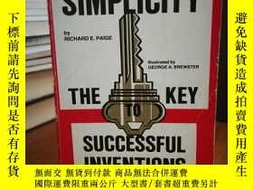 二手書博民逛書店Simplicity罕見: The Key to Success