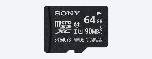 【聖影數位】SONY SR-64UY3A/T TF 64GB micro SDHC 90MB/S 台灣索尼公司貨