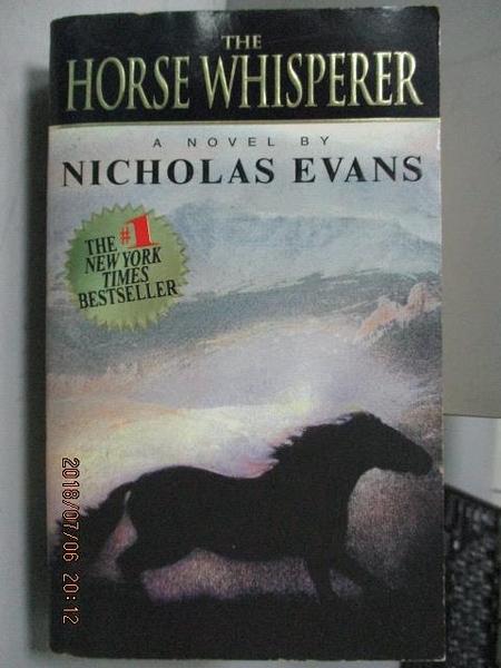【書寶二手書T6/原文小說_LDE】The Horse Whisperer_Nicholas Evans