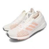 adidas 慢跑鞋 PulseBOOST HD W 白 粉紅 女鞋 運動鞋 【PUMP306】 FU7341