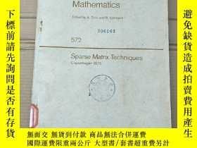 二手書博民逛書店lecture罕見notes in mathematics(P2094)Y173412