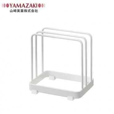 日本【YAMAZAKI】Plate日系框型砧板架