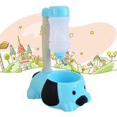 寵物碗桿式寵物狗狗飲水器 泰迪水壺可升降喝水喂水喂食