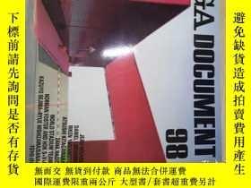二手書博民逛書店GA罕見DOCUMENT 世界の建築 98(日文) 。Y2611