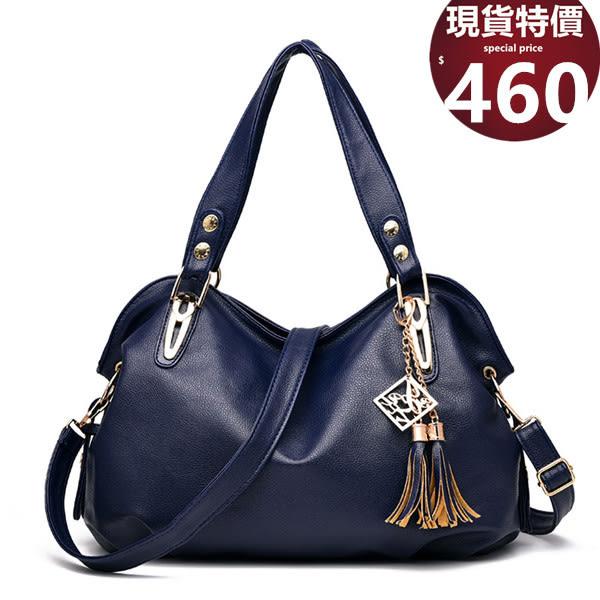 手提包 新款彼岸春天側背斜背手提包包 5色(附側背帶) 0229-寶來小舖Bolai shop -現貨販售