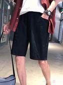 寬鬆潮流男士直筒五分褲子夏季韓版休閒褲學生短褲潮  9號潮人館