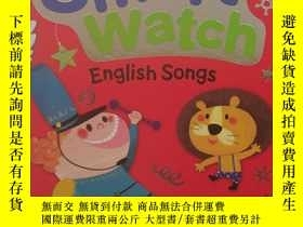 二手書博民逛書店紙板書罕見smart watch english songs 智