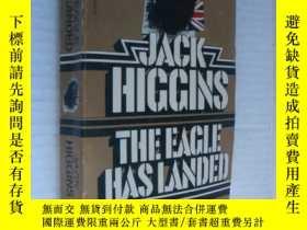二手書博民逛書店The罕見eagle has landed 三面刷黃Y14681