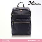 Medley 米迪麗 後背包 防潑水面料 多夾層 雙肩包 黑色 16039BK 得意時袋