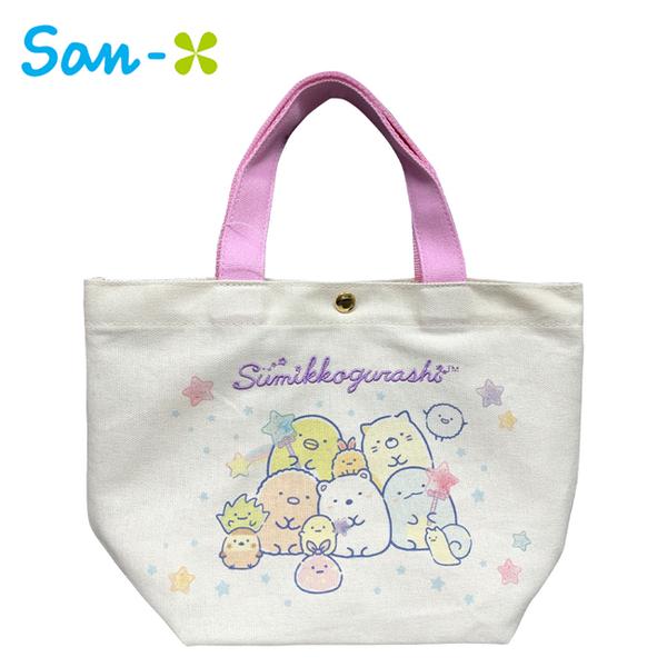 【日本正版】角落生物 兩用 保冷袋 手提袋 便當袋 保冷提袋 角落小夥伴 San-X 779142