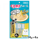 【寵物王國】日本CIAO/CI-SC-180啾嚕肉泥-電解質水分補給(雞肉)14gx4入