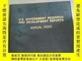 二手書博民逛書店u.s.government罕見research and dev