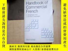 二手書博民逛書店Handbook罕見of Commercial French【英