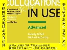 全新書博民逛書店EnglishCollocations in Use Advan