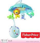 【嬰之房】Fisher Price費雪 可愛動物豪華兩用聲光吊鈴