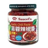 味榮 蒜蓉辣椒醬(五辛素) 240g/瓶
