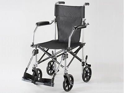 出口歐美銀髮族折疊輪椅 最小收摺!! 9KG( 送旅行收納袋)