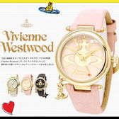 【人氣款】Vivienne Westwood 英國時尚精品腕錶 VV006PKPK 櫻花粉 現貨!