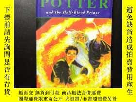 二手書博民逛書店HARRY罕見POTTER an the Half-Blood