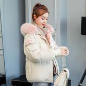 鋪棉外套 冬季羽絨棉服短款寬松面包冬天棉襖 巴黎春天
