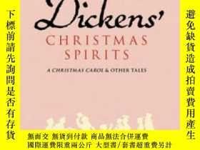 二手書博民逛書店Dickens 罕見Christmas Spirits(查爾斯·