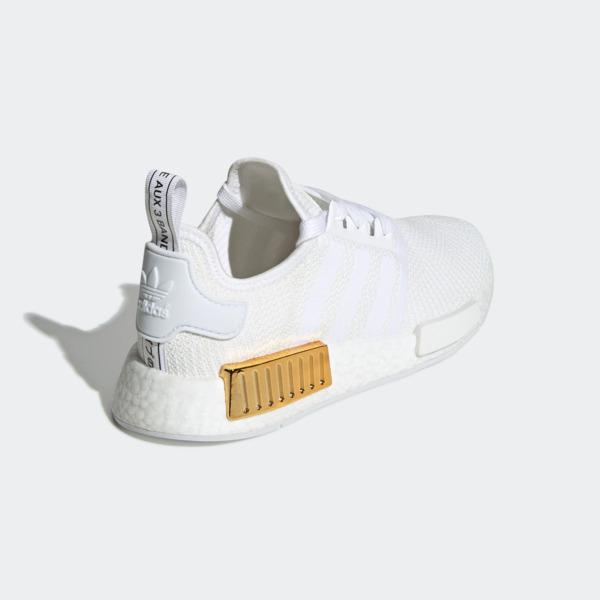 Adidas NMD_R1 W [EG6703] 女鞋 運動 休閒 復古 潮流 襪套 避震 合貼 舒適 愛迪達 白金