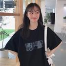 短袖T恤 網紅短袖t恤女夏年新款韓版寬鬆ins超火港風百搭mschf上衣潮