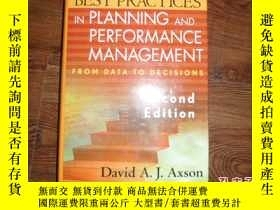 二手書博民逛書店Best罕見Practices in Planning and