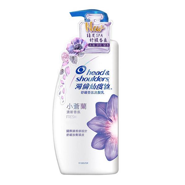 海倫仙度絲小蒼蘭香氛去屑洗髮乳750ML【康是美】