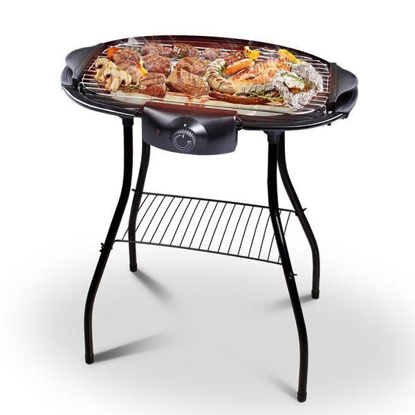220v電烤爐家用無煙電燒烤爐室內烤肉機架大號【無敵3C旗艦店】