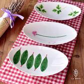 家用系列陶瓷橢圓盤子LVV2769【KIKIKOKO】