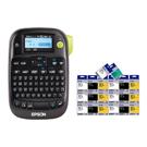 【任選市價399原廠標籤帶20捲 加送3捲】EPSON LW-K400 家商用行動可攜式標籤機