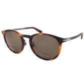 【GUCCI太陽眼鏡】琥珀復古圓框-偏光款(#GG1125FS-8E2)