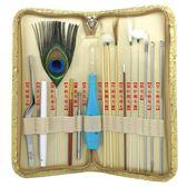 彩采耳15件套裝 發光耳勺挖耳朵工具 成人兒童鵝毛  享購
