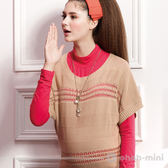 【ohoh-mini孕婦裝】四季百搭針織長版孕婦上衣