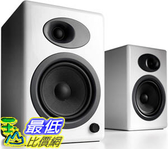 [9美國直購] 音箱 Audioengine A5 Plus Classic 150W Powered Bookshelf Speakers Built-in Analog Amplifier (White)