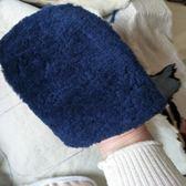 擦皮鞋神器 手套式純羊毛擦鞋布擦皮鞋神器軟毛刷清潔拋光擦鞋手套