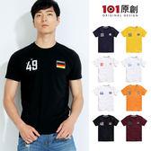 【101原創】台灣製.世足限定-國家隊T恤-8款 (2018世界盃足球賽)