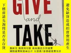 二手書博民逛書店Give罕見and Take:Why Helping Others Drives Our Success【詳細書名
