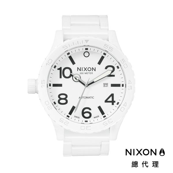 【官方旗艦店】NIXON CERAMIC 51-30 陶瓷精緻腕錶 優雅白 潮人裝備 潮人態度 禮物首選