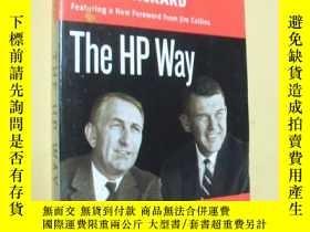 二手書博民逛書店英文原版罕見惠普之道 The HP Way: How Bill Hewlett and I Built Our C