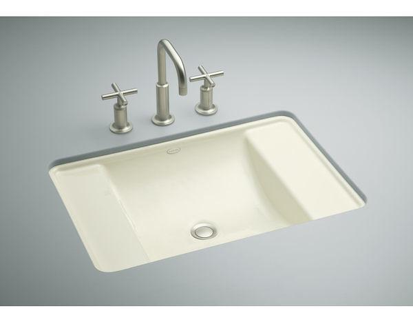【麗室衛浴】美國廠 KOHLER  Ledges系列 鑄鐵下崁盆 K-2838-0