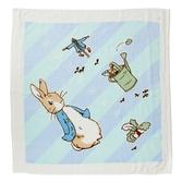 【奇哥】比得兔身高尺紗布浴巾/包巾-粉藍
