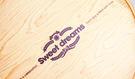 16CM  質感木紋 附棉紙底板 6吋 ...