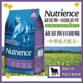 *WANG*美國Nutrience紐崔斯《田園成犬-羊肉+糙米》2.5公斤