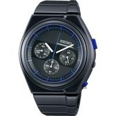 SEIKO 精工 GIUGIARO DESIGN 聯名設計限量計時手錶 7T12-0CG0B(SCED061J)