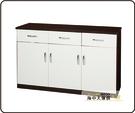 {{ 海中天休閒傢俱廣場 }} B-34 環保塑鋼 碗盤櫃系列 899-06 三抽三門碗盤櫃(十一色可選)
